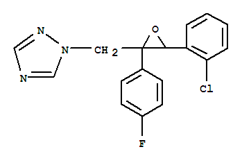 1H-1,2,4-Triazole,1-[[3-(2-chlorophenyl)-2-(4-fluorophenyl)-2-oxiranyl]methyl]- product picture