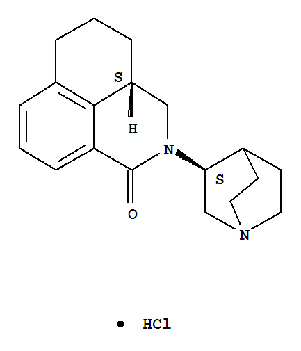 Molecular Structure of 135729-62-3 (Palonosetron hydrochloride)