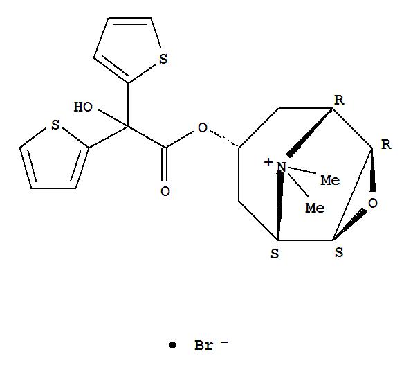 Tiotropium bromide(136310-93-5)