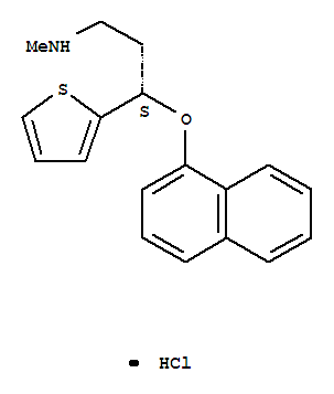 Molecular Structure of 136434-34-9 (Duloxetine hydrochloride)
