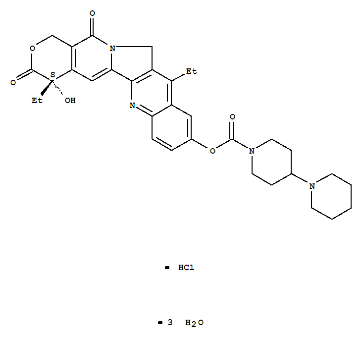 Irinotecan hydrochloride trihydrate product picture