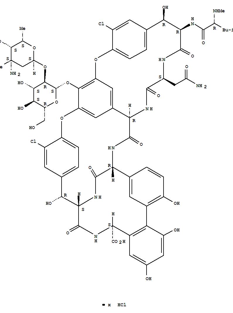 Vancocine hydrochloride(1404-93-9)