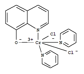 15604-11-2,Chromium,dichlorobis(pyridine)(8-quinolinolato)- (8CI),