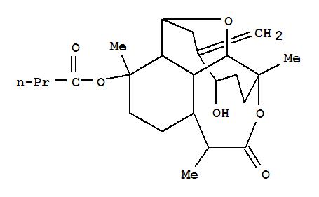 165171-24-4,Butanoic acid,(2S,2aR,3R,5aR,6R,9S,9aS,9bS,12R)-decahydro-12-hydroxy-3,6,9-trimethyl-13-methylene-7-oxo-2,9-pentano-2H-furo[2,3,4-ef][3]benzoxepin-3-ylester,Butanoic acid,decahydro-12-hydroxy-3,6,9-trimethyl-13-methylene-7-oxo-2,9-pentano-2H-furo[2,3,4-ef][3]benzoxepin-3-ylester, [2S-(2R*,2aS*,3S*,5aS*,6S*,9R*,9aR*,9bR*,12S*)]-; (-)-Briarellin D; Briarellin D
