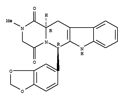 Molecular Structure of 171596-29-5 (Cialis)