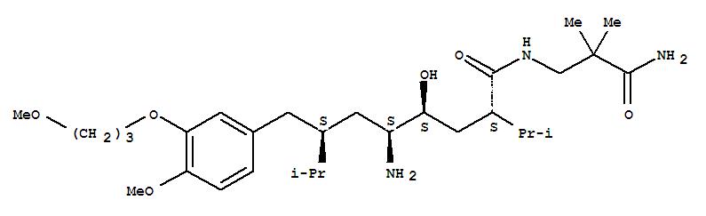 Molecular Structure of 173334-57-1 (Aliskiren)