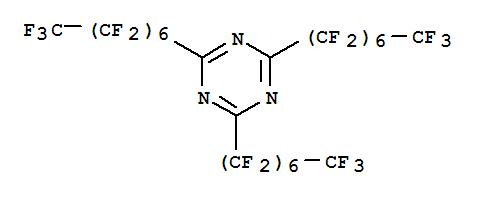 2,4,6-Tris(perfluoroheptyl)-1,3,5-triazine, Mass Spec standard cas:21674-38-4