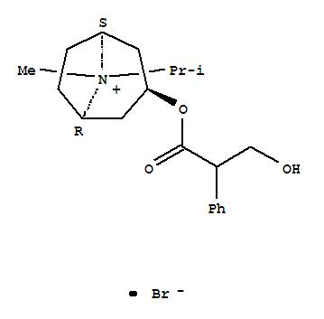 Molecular Structure of 22254-24-6 (Ipratropium bromide)