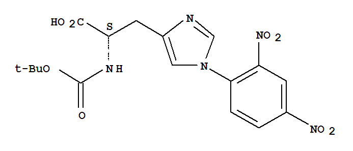 N-(tert-Butoxycarbonyl)-1-(2,4-dinitrophenyl)-L-histidine product picture