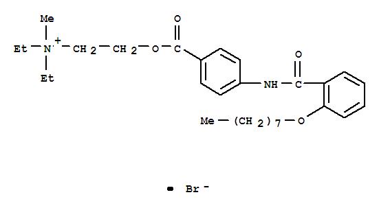 Molecular Structure of 26095-59-0 (Otilonium bromide)