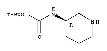 309956-78-3,Carbamicacid, N-(3R)-3-piperidinyl-, 1,1-dimethylethyl ester,(R)-3-Boc-aminopiperidine;Carbamicacid, (3R)-3-piperidinyl-, 1,1-dimethylethyl ester (9CI);(3R)-3-[((tert-Butyloxycarbonyl)amino)]piperidine;(R)-3-[N-(tert-Butoxycarbonyl)amino]piperidine;(R)-Piperidin-3-ylcarbamic acid tert-butylester;(R)-tert-Butyl(piperidin-3-yl)carbamate;tert-Butyl(R)-piperidin-3-ylcarbamate;