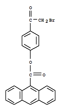 9-Anthracenecarboxylicacid, 4-(2-bromoacetyl)phenyl ester