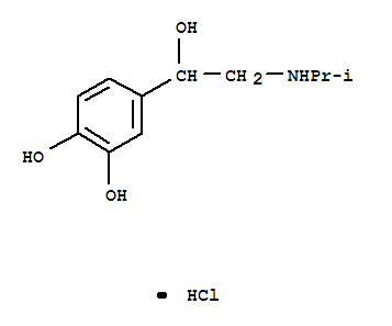 1,2-Benzenediol,4-[1-hydroxy-2-[(1-methylethyl)amino]ethyl]-, hydrochloride (1:1)
