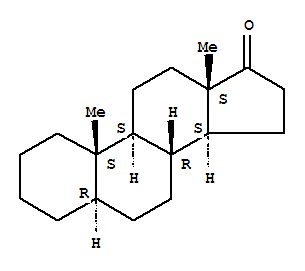 Molecular Structure of 963-74-6 (Androstan-17-one, (5a)-)