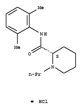 Molecular Structure of 98717-15-8 (Ropivacaine hydrochloride)