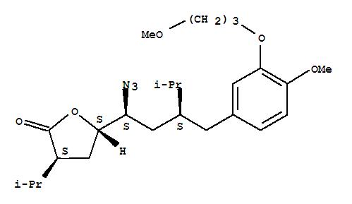 5(S)-[1(S)-Azido-3(S)-[4-methoxy-3-(3-methoxypropoxy)benzyl]-4-methylpentyl]-3(S)-isopropyldihydroFuran-2-one(324763-46-4)