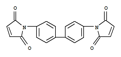 Molecular Structure of 3278-30-6 (1H-Pyrrole-2,5-dione,1,1'-[1,1'-biphenyl]-4,4'-diylbis-)
