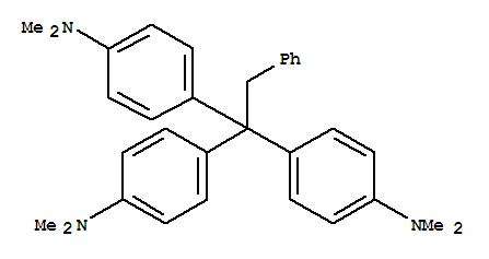 Molecular Structure of 328010-96-4 (Benzenamine,4,4',4''-(phenylethylidyne)tris[N,N-dimethyl- (9CI))