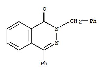 3306-73-8,1(2H)-Phthalazinone, 4-phenyl-2-(phenylmethyl)-,1(2H)-Phthalazinone, 2-benzyl-4-phenyl- (7CI); NSC 154688