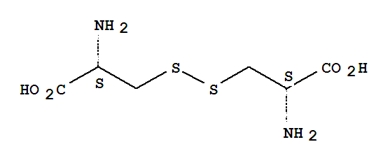 Molecular Structure of 349-46-2 (D-Cystine)
