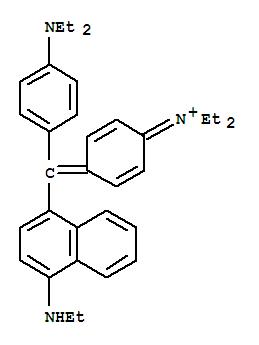 36396-19-7,Ethanaminium,N-[4-[[4-(diethylamino)phenyl][4-(ethylamino)-1-naphthalenyl]methylene]-2,5-cyclohexadien-1-ylidene]-N-ethyl-,