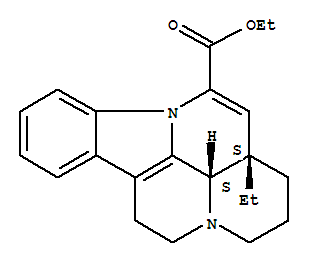 Molecular Structure of 42971-09-5 (Vinpocetine)