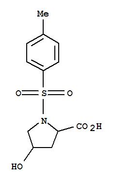 Proline, 4-hydroxy-1-[(4-methylphenyl)sulfonyl]-