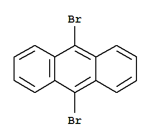 Molecular Structure of 523-27-3 (Anthracene, 9,10-dibromo-)