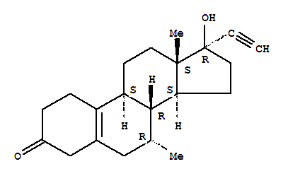 Molecular Structure of 5630-53-5 (Tibolone)