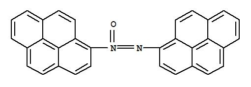 Molecular Structure of 58447-78-2 (Diazene, di-1-pyrenyl-, 1-oxide (9CI))