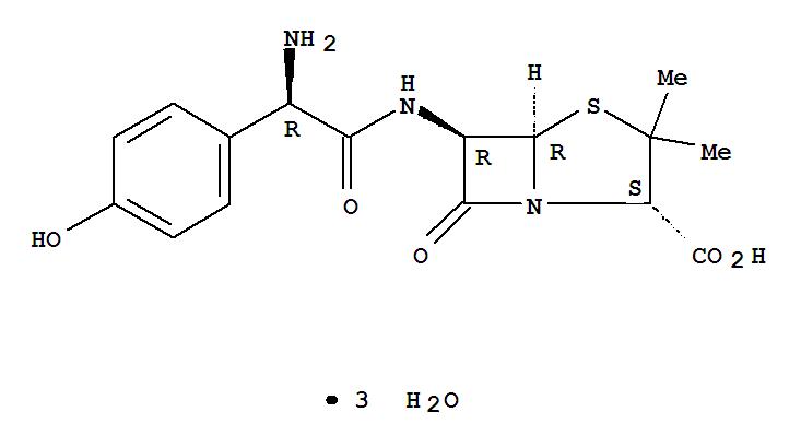 Amoxicillin trihydrate(61336-70-7)
