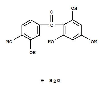 6150-74-9,Methanone,(3,4-dihydroxyphenyl)(2,4,6-trihydroxyphenyl)-, monohydrate (9CI),Benzophenone,2,3',4,4',6-pentahydroxy-, monohydrate (8CI); Maclurin monohydrate
