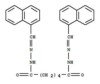 6295-80-3,Hexanedioicacid, 1,6-bis[2-(1-naphthalenylmethylene)hydrazide],Adipicacid, bis[(1-naphthylmethylene)hydrazide] (8CI); NSC 49500