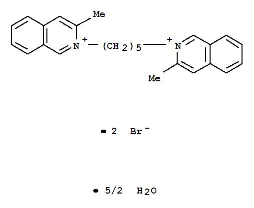 6634-80-6,Isoquinolinium, 2,2'-(1,5-pentanediyl)bis[3-methyl-,dibromide, hydrate (2:5) (9CI),benzamide, 2-chloro-4-methyl-N-(6-methyl-2-pyridinyl)-