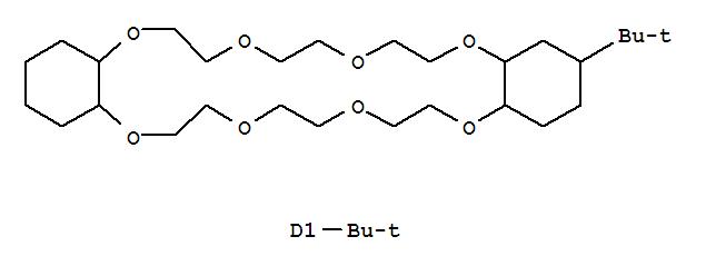 70936-93-5,Dibenz[b,n][1,4,7,10,13,16,19,22]octaoxacyclotetracosin, 2,16(or 2,17)-bis(1,1-dimethylethyl)tetracosahydro-,