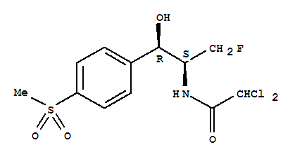 High quality 2,2-Dichloro-N-[(1R,2S)-3-Fluoro-1-Hydroxy-1-(4-Methylsulfonylphenyl)Propan-2-Yl]Acetamide supplier in China