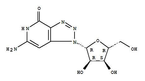 73591-56-7,4H-1,2,3-Triazolo[4,5-c]pyridin-4-one,6-amino-1,5-dihydro-1-b-D-ribofuranosyl-,8-Aza-3-deazaguanosine;NSC 314933