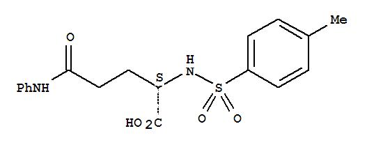 7460-91-5,L-Glutamine,N2-[(4-methylphenyl)sulfonyl]-N-phenyl-,NSC400401; NSC 404244