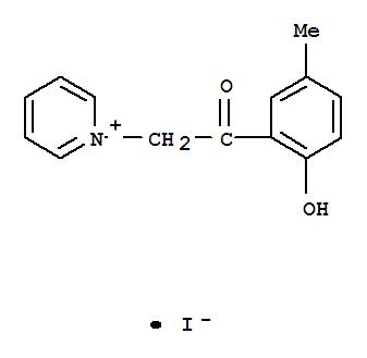 7478-08-2,Pyridinium, 1-[2-(2-hydroxy-5-methylphenyl)-2-oxoethyl]-,iodide (1:1),Pyridinium, 1-[2-(2-hydroxy-5-methylphenyl)-2-oxoethyl]-,iodide (9CI); NSC 402865