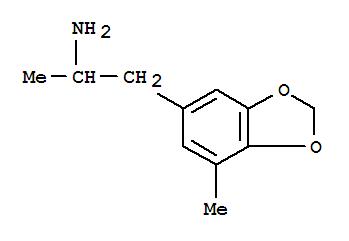 Molecular Structure of 749191-14-8 (1,3-Benzodioxole-5-ethanamine,a,7-dimethyl-)