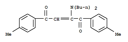 (E)-2-(DIBUTYLAMINO)-1,4-BIS(4-METHYLPHENYL)BUT-2-ENE-1,4-DIONE