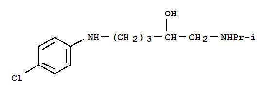 7505-21-7,2-Pentanol,5-[(4-chlorophenyl)amino]-1-[(1-methylethyl)amino]-,2-Pentanol,5-(p-chloroanilino)-1-(isopropylanilino)-(8CI); NSC 406301