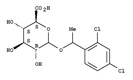 D-Glucopyranosiduronicacid, 1-(2,4-dichlorophenyl)ethyl(7557-93-9)
