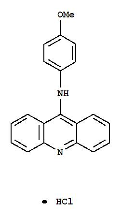 75651-12-6,9-Acridinamine,N-(4-methoxyphenyl)-, hydrochloride (1:1),9-Acridinamine,N-(4-methoxyphenyl)-, monohydrochloride (9CI)