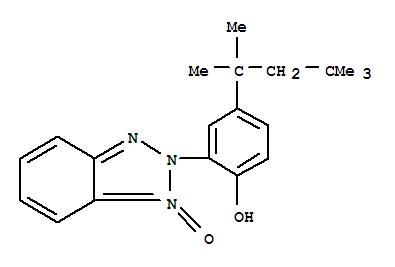Molecular Structure of 76539-64-5 (Phenol,2-(1-oxido-2H-benzotriazol-2-yl)-4-(1,1,3,3-tetramethylbutyl)-)
