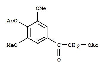 90426-23-6,Ethanone,2-(acetyloxy)-1-[4-(acetyloxy)-3,5-dimethoxyphenyl]-,NSC114895