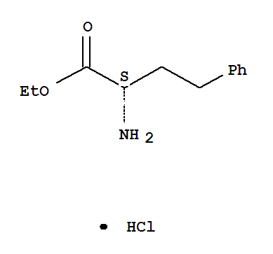 Molecular Structure of 90891-21-7 (L-Homophenylalanine ethyl ester hydrochloride)