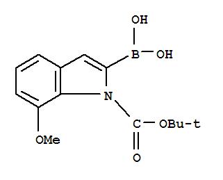 1H Indole 1 Carboxylicacid 2 Borono 7 Methoxy 11 Dimethylethyl Ester Specification