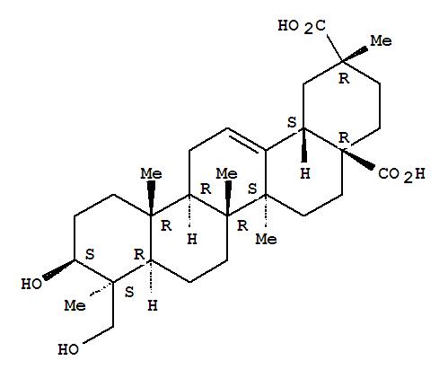 96284-36-5,Olean-12-ene-28,29-dioicacid, 3,23-dihydroxy-, (3b,4b,20a)- (9CI),
