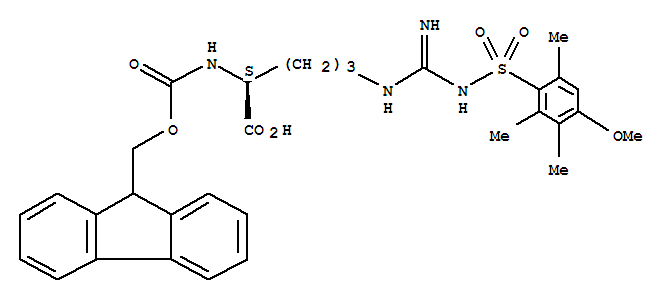 N-Fmoc-N'-(4-methoxy-2,3,6-trimethylbenzenesulfonyl)-L-arginine